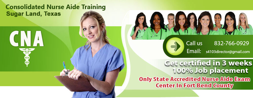 CNA | Consolidated Nurse Aide Training